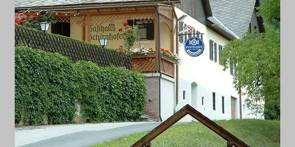 """Gasthof """"Stiegenwirt"""", Schirnhofer/Kogler, Aussenansicht"""