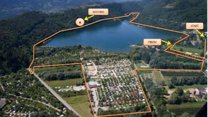 Il fantastico percorso del Giro del Lago di Levico