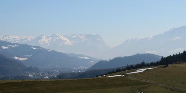 Hochgitzen vor den Salzburger Alpen