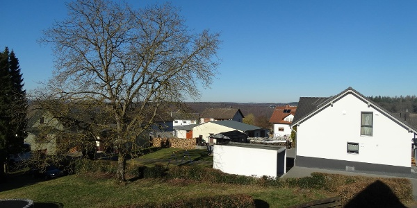 Ausblick vom Balkon 2