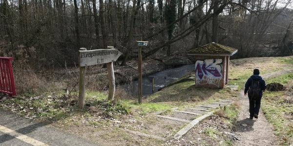 Erpetalweg (E11) nahe Hoppegarten