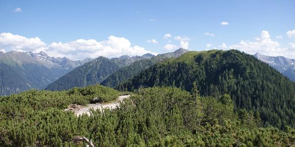 View from Kleine Hochwurzen towards Rossfeld