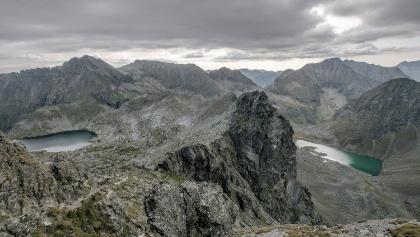 View from Greifenberg to Klafferkessel and Lungauer Klaffer