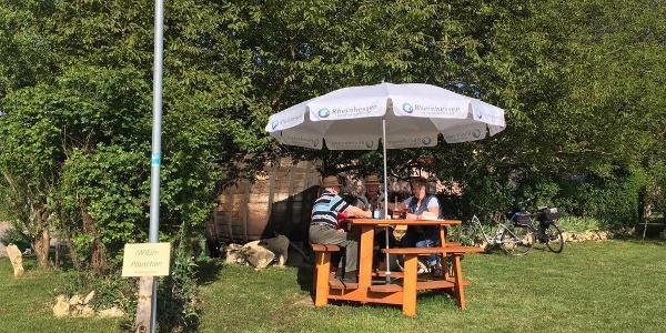 Rastplatz vom Weingut Schuck