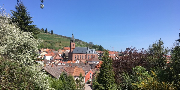 Das romantische Weindorf St. Martin