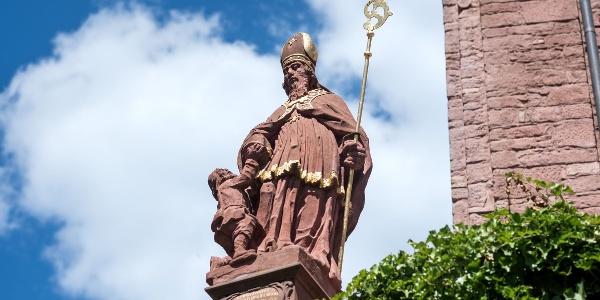 Die Martinus-Statue