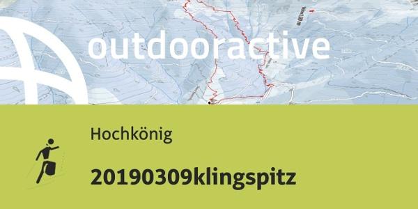 Skitour am Hochkönig: 20190309klingspitz