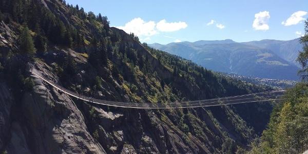 The Aspi-Titter footbridge