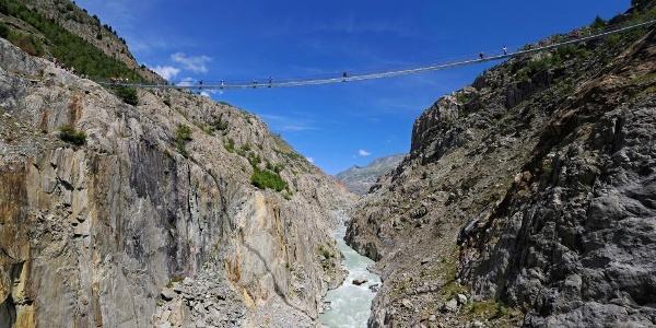 Aletsch footbridge