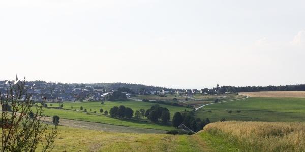 Hunsrücklandschaft bei Monzelfeld