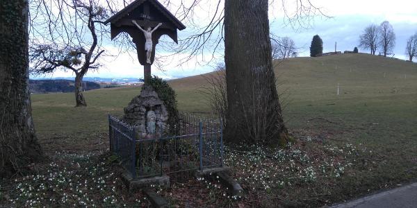 Wegkreuz bei Oberwies