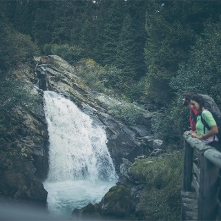 Waterfalls of the Burkhard Gorge