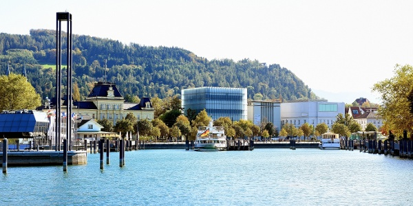 Hafen in Bregenz