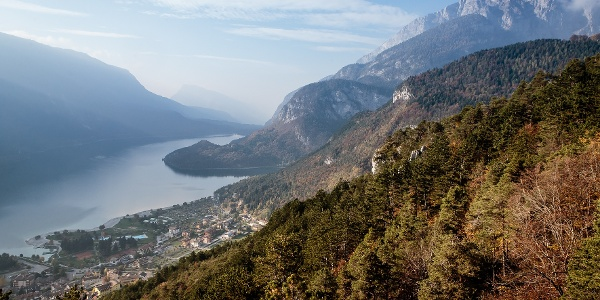 Molveno and the lake