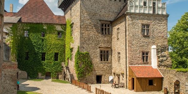 Burg in Lipnice nad Sázavou