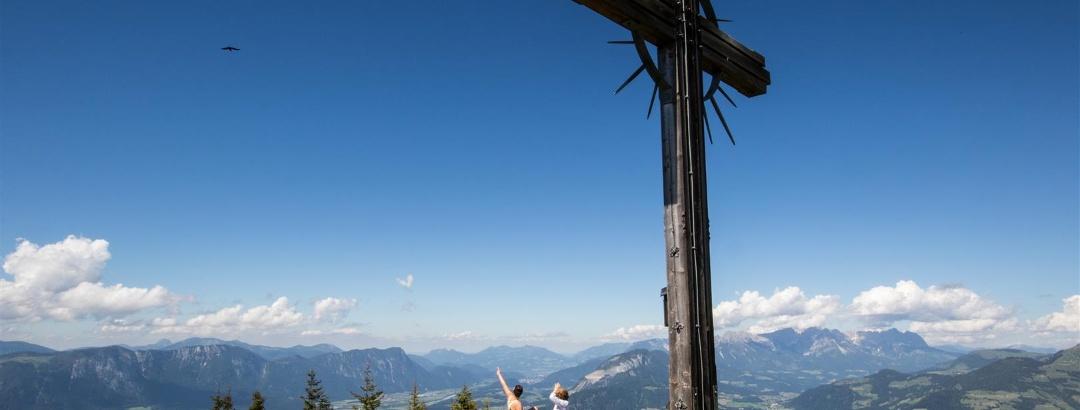 Gipfelkreuz in der Wildschönau