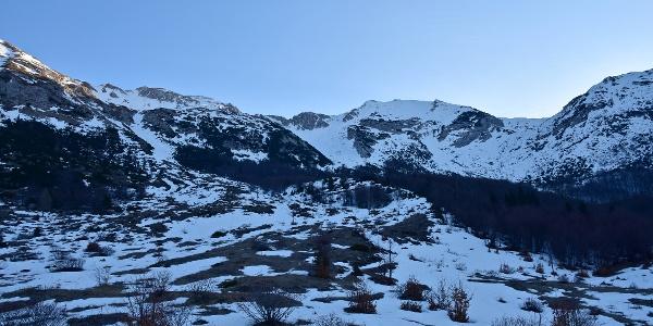 Razor Mountain pasture