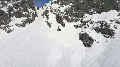 Großer Anriss im Kar
