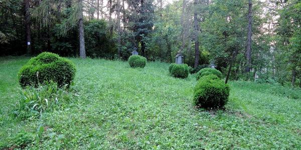 A mároki kápolna melletti régi temető