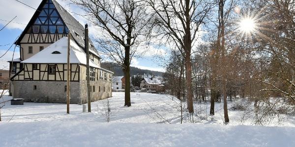 Herrenhau im Winter