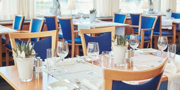 Restaurant Rhyblick, Hotel Schiff am Rhein