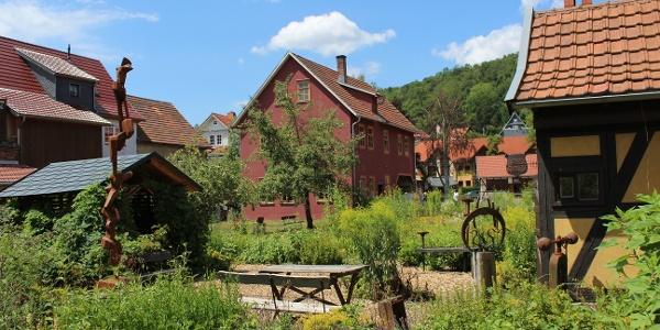 Bauerngarten am Metallhandwerksmuseum