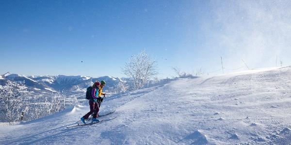 Skitour aufs Rossfeld