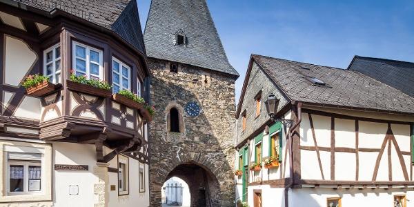 Uhrturm in Herrstein