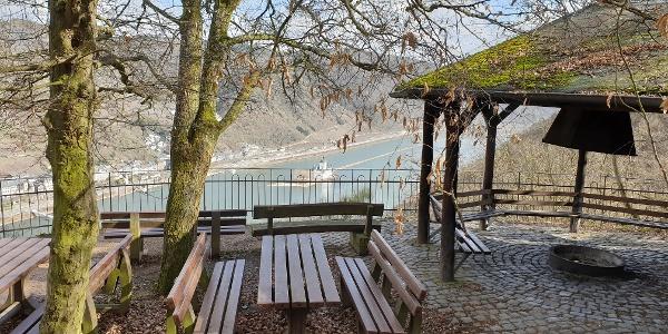 Traumschleifchen Pfalzblick - Aussichts- und Rastpunkt Sauzahn