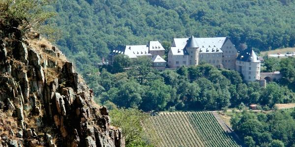 Die Ebernburg vom Rotenfels