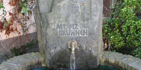 Startpunkt: Münzbrunnen an der Villa Romana