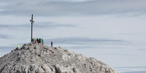 Sulzfluh Gipfel 2'817 m ü. M.