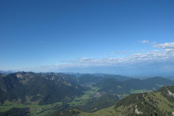 Ausblick vom Wendelstein