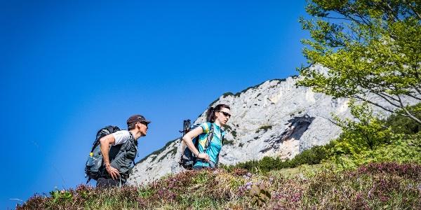 Aufstieg zum Untersberg