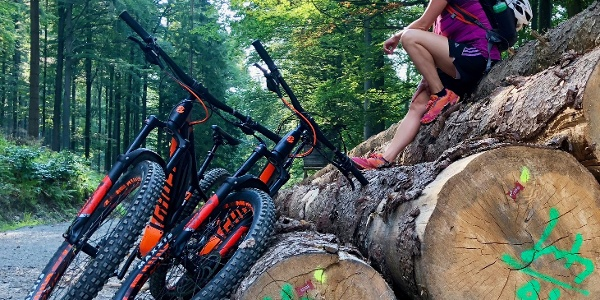 E-Bike Fichtelberg / Erzgebirge
