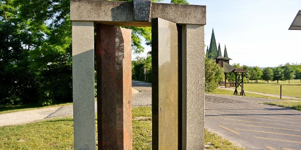 A Páneurópai Piknik emlékhely egyik emlékműve