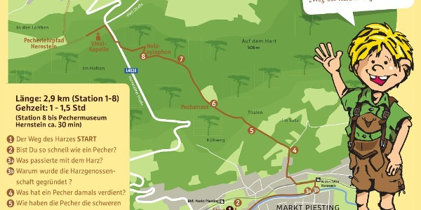 Der Weg des Harzes