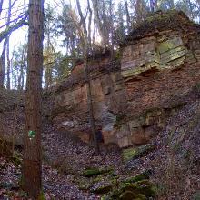 Im aufgelassenen Steinbruch Dunzelloch