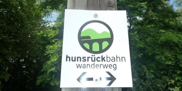 Hunsrückbahnwanderweg Logo