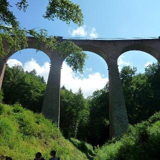 Hunsrückbahnwanderweg Hubertusviadukt