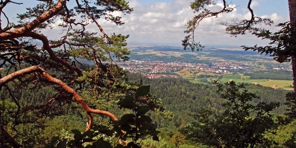 Blick auf Balingen