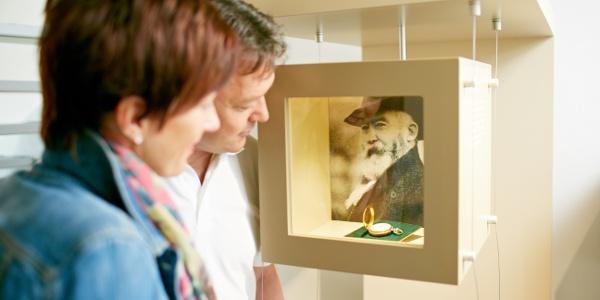 Wilhelm Busch Porträt im Wilhelm Busch Geburtshaus