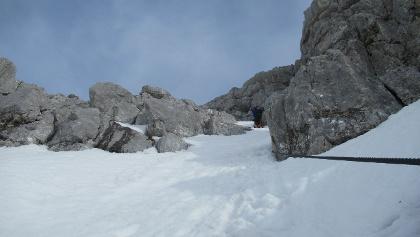Felsriegel am Schilehrerweg
