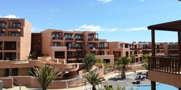 Der Innenhof des Hotels Sandos San Blas