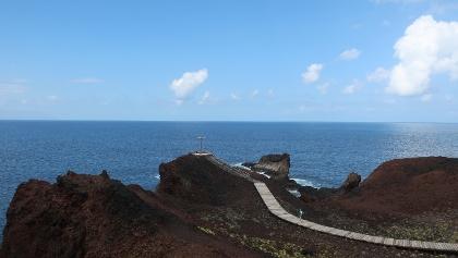 View to the sea at Punta de Teno