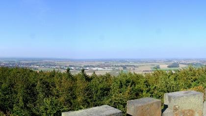 Harrl, Aussicht vom Idaturm