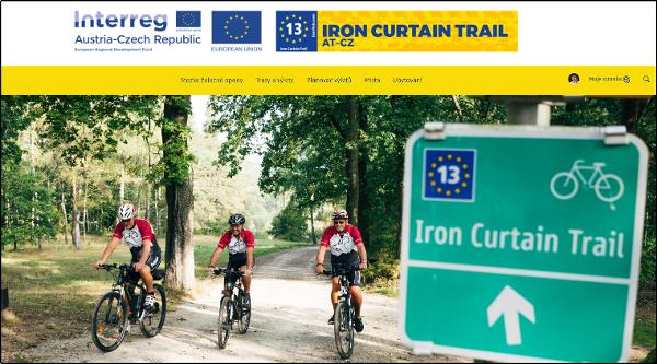 Úvodní stránka aplikace ev13.eu