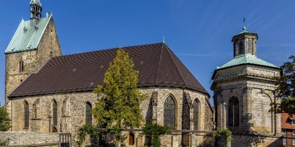 St. Martini Kirche und Mausoleum Stadthagen
