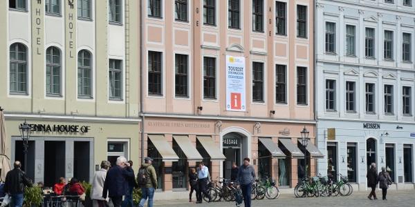 Dresden Information an der Frauenkirche