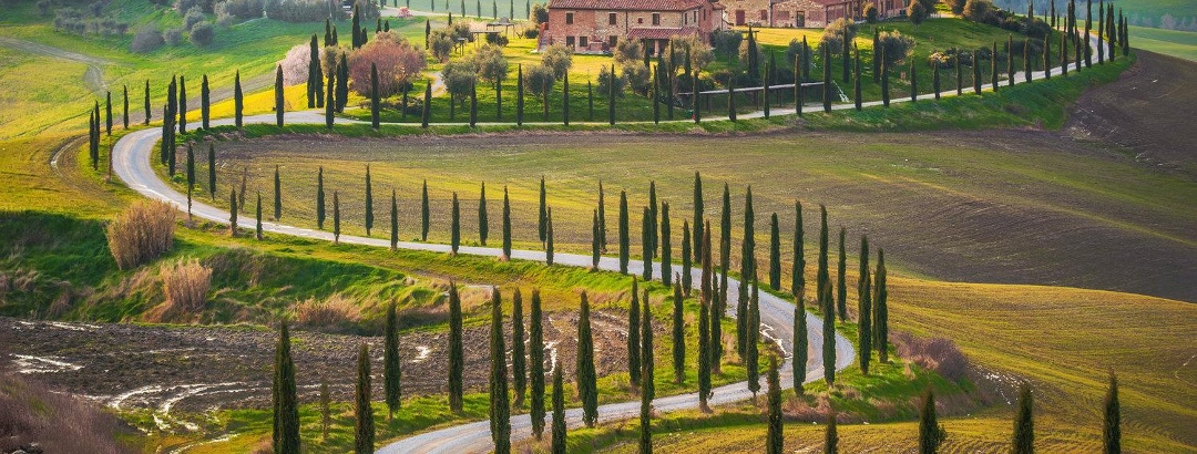 Tuscany's Chianti wine region from Florence to Siena